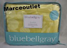 Bluebellgray Fleur FULL / QUEEN Duvet Cover & Shams Set Chartreuse