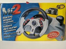 Mad Catz MC2 Racing Wheel and Pedal for Playstation 1 & 2 NEW Open Box