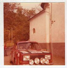 Fotografia Originale - RALLY FIAT 131 ABARTH 2