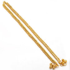 10Anklet Payal Bollywood Fashion Latest ad Cz stylish designer gold plated 4971