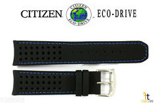 Citizen Eco-Drive AT7030-05E 22mm Black Leather Watch Band 4-S079870