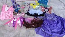 PRINCESS DRESS UP Mix Disney Costume Lot Girls Sz 2/4 2T-4T Pretend