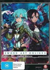 Limited Edition DVDs and Sword Art Online Blu-ray Discs