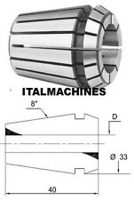 "ER11 ESX11 Pinza di serraggio 4008E DIN6499B d=3.175mm #484 1//8/"""