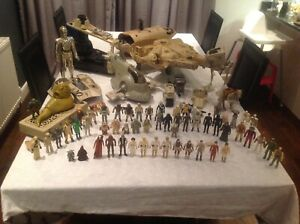 Vintage  Star Wars Figures And Vehicles 1977 -1983