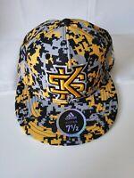 NEW KSU Kennesaw State University Owls GA 7 1/2 fitted Hat Cap Addidas