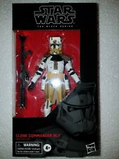 "STAR WARS BLACK SERIES 6"": CLONE COMMANDER BLY  #104"