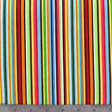 Valance Multi Color Stripe Window Treatment Topper Classroom Bedroom Playroom
