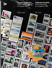 CANADA 1989 Annual / Yearly Stamp  Collection (Sealed)