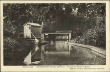 Guadeloupe Gourbeyre  Piscine c1920 Postcard jrf
