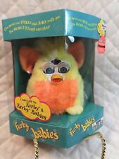 1999 Tiger Electronics Furby Babies Yellow And Orange W/Blue Eyes NEW IN BOX