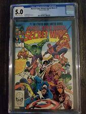 Marvel Super Heroes Secret Wars Limited Series #1, 5/84, Marvel Comics, CGC 5.0