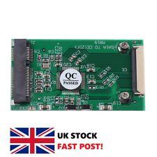 """mSATA Mini PCI-E SATA SSD to ZIF CE 1.8"""" 40 Pin Adapter Card 3.3V PCB Module PC"""