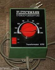 Analoge Fleischmann Modellbahnen für die Steuerung von Trafos