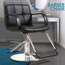 Salon Hydraulic Barber Chair Styling Salon Beauty Equipment Spa Black Classic