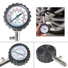 Auto  Car Truck Tyre Tire Air Pressure Gauge Dial Meter Vehicle Tester Fine