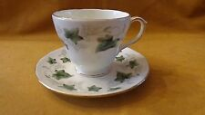 Duchess English Bone China Tea cup set pattern IVY #509 Gold accents LQQK