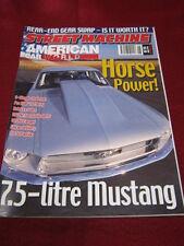 STREET MACHINE AMERICAN CAR WORLD - June 2003 - 7.5L MUSTANG