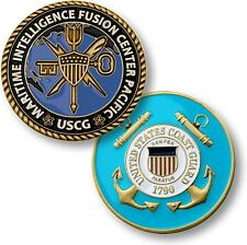 USCG Maritime Intelligence Fusion Center Pacific Challenge Coin US Coast Guard