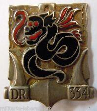 Insigne Marine Indochine HELIOTROPE  DRAGUEUR DE MINES 334 Drago Bér. ORIGINAL