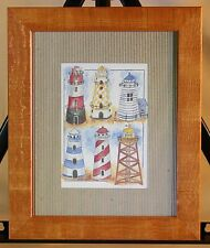 Lighthouses - Framed Print