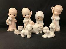 "Precious Moments ""Come Let Us Adore Him"" Nativity Regular size 104000"