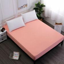 Waterproof Fitted Bed Sheet Mattress Protector Queen Size Elastic Deep Pocket