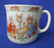 Royal Doulton Bunnykins Celebrate Your Christening 8 Oz. Mug Cup HW142 Beige