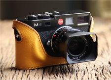 Leather Half Case for Leica M8, M9, M9P, ME - 10 Colours to Choose From