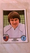 Jimmy Connors ROOKIE - Panini Sport Superstars 1981 - Good Condition