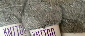 Knitco DK Weight Wool/Yarn - Grey -500g Approx. - #370