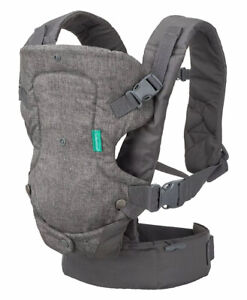 Infantino Flip  4-in-1 Convertible Baby Carrier convertible Gray 8-32 lbs New
