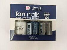Ulta3 Fan Nails Nail Polish Geelong Cats Navy White