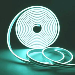 Led Neon Rope Light 12V Flexible Led Strip Lights IP68 Waterproof 1-5M 8 Colors