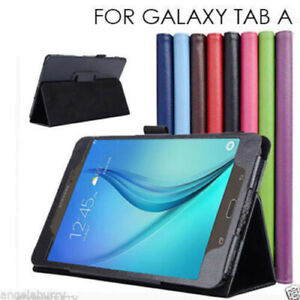 Samsung Galaxy Tab A 8.0 2017 Smart Leather Case Cover SM-T380 T385 2017 Model