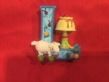 "Mary Engelbreit Alphabet Letter ""L� Lamp Lamb Standing Resin Figure 3"""