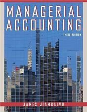 Managerial Accounting by James Jiambalvo (2006, Hardcover, Revised)