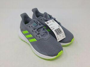 Adidas Kids Grey/Green Duramo 9 Running Shoes Size 10.5K US
