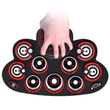 Children Gift Drum Pad Water-proof Electronic Drums Rechargeable Drum Kit