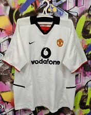 Manchester United FC 2002 2003 Away Football Shirt Soccer Jersey Nike Mens XL