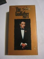 The Godfather Part II, Two Tape Set (VHS 1997) (GS1-31)