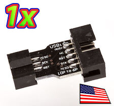 USBASP 10 to 6 pin adapter for USBASP USBISP Programmer - Arduino compatible