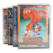 Paquete De 5 Premium Super Fuerte Mega Drive Master System 32X Juego Protectores De Caja De 0.5