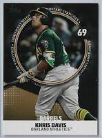 2019 Topps Series 2 Baseball significant statistics Khris Davis Gold SS-2 44/50