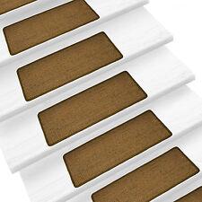 Pure Nature Sisal Stufenmatten Rechteckig ohne Lippe Cork Treppenstufenmatten
