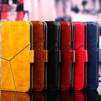 For Samsung Galaxy J5 / J7 Prime PU Leather Case Soft Silicone Wallet Flip Cover