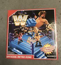 WWE MATTEL OFFICIAL RETRO WRESTLING RING SEALED BRAND NEW vintage wwf lot