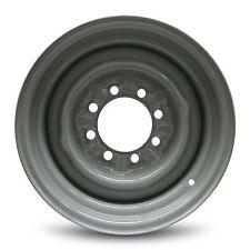 """New 16"""" 8 Lug 4 Slot 1992-2007 Ford E350 Van Gray Steel Wheel Rim 16x7 8x165.1"""