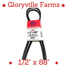 """Premium Belt 1/2""""x88"""" Fits Craftsman Husqvarna 4L880 144200 532 14 42-00 (5121)"""