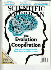 SCIENTIFIC AMERICAN Magazine July 2012 - The Evolution Of Cooperation